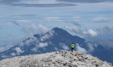 Elske aan het exploreren. Tajumulco