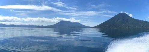 Lekker blauw. Lago Atitlán