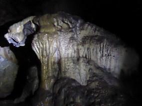 Teigrrrrtje in de grotten van Lanquín.