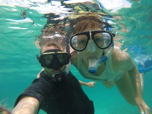 Blub'ie us! Caye Caulker Marine Reserve