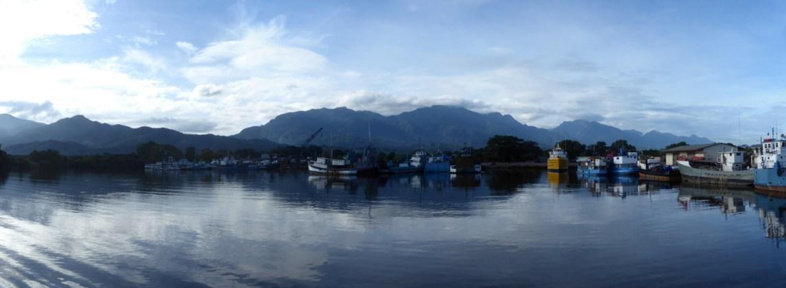 De baai van La Ceiba.