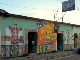 De grappige muurschilderingen van La Palma.