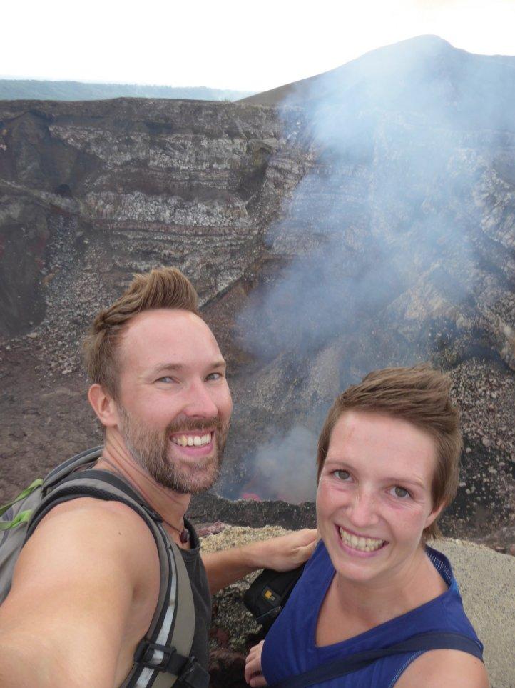 Hep'ie us samen met lava! Masaya vulkaan
