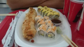 Shoppingmall sushi is beter dan geen sushi XD Panama City