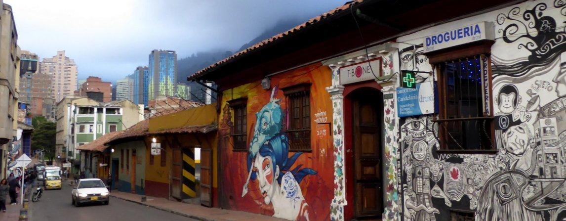 Typisch straatbeeldje III. Bogota (Colombia)