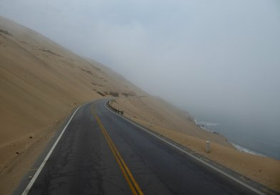Zandwegweg. Onderweg naar Trujillo