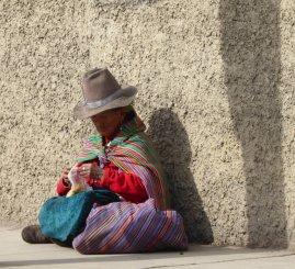 Mooi vrouwtje. Huaraz