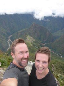 Hep'ie us op Montaña Machu Picchu!