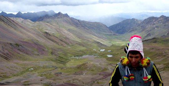 Van die bolletjes die je vroeger maakte :D Rainbow Mountain