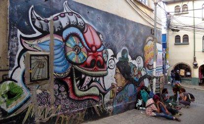 Street art. La Paz
