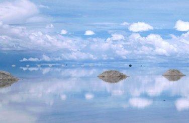 Spiegel van de hemel. Salar de Uyuni