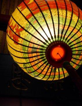 Lampion in de Dalongdong Baoan Temple. Taipei