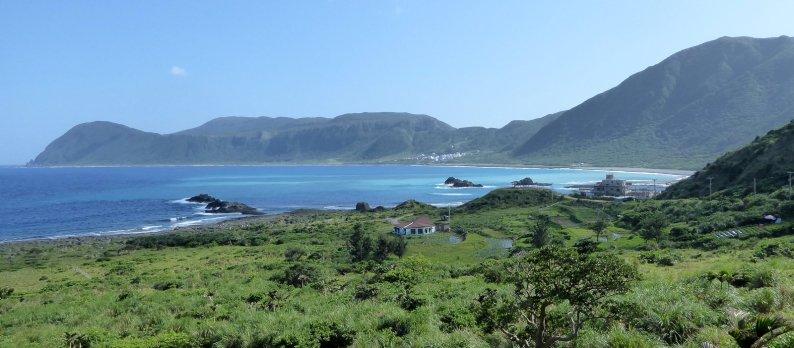 Mooie baai. Lanyu island