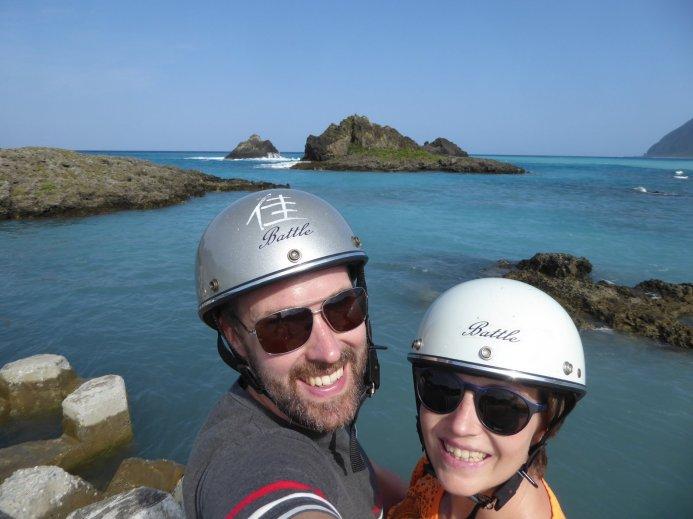 Hep'ie us roadtrip-proof. Lanyu island