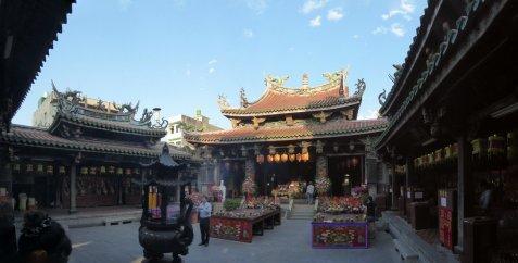 De mooie Lukang Mazu Temple.