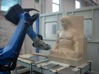 Robot per lavorazione marmo e pietra T  D ROBOTICS