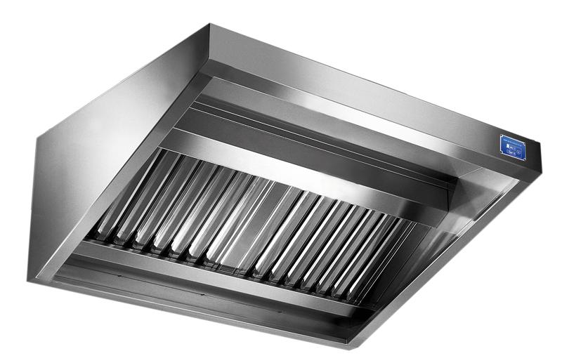 Cappe aspiranti professionali in acciaio inox METALTECNICA