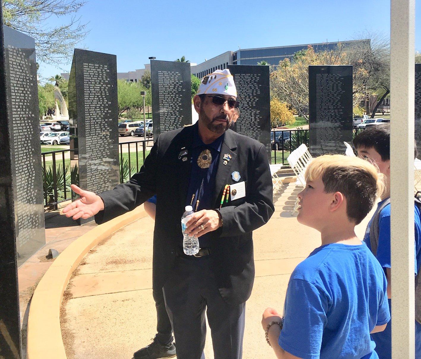 A Teaching Moment | Arizona Dept  || American Legion