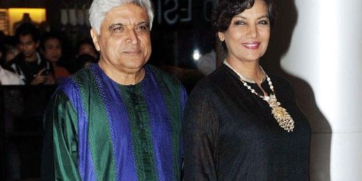 Javed, Shabana attend seminar on Kaifi Azmi