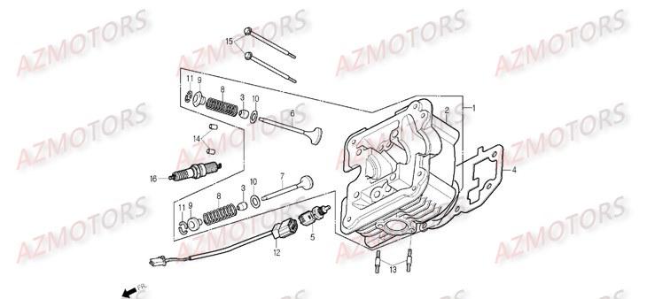 Pièces Scooter DAELIM B BONE 125cc Pièces détachées neuves