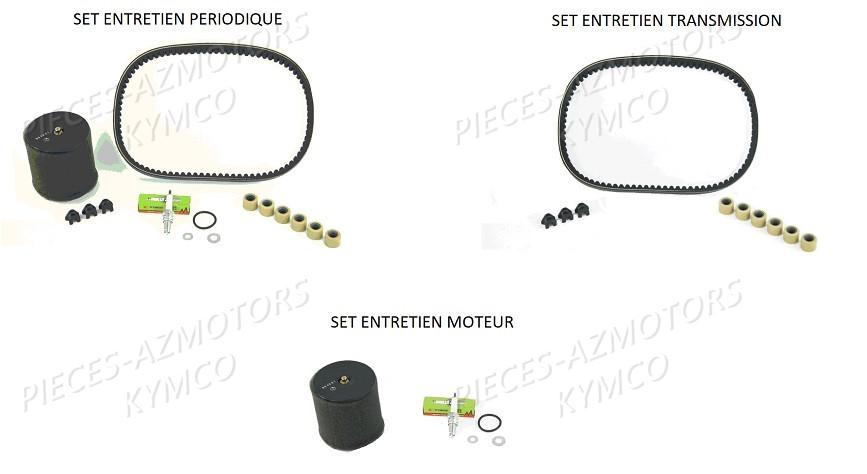 1 SET ENTRETIEN vue eclate Pièces KXR 250 / MAXXER 250 4T