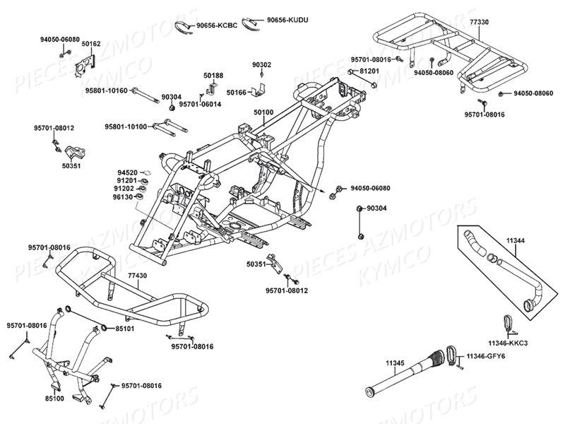 # KYMCO-PIECES : KYMCO Boutique en ligne Quads Motos