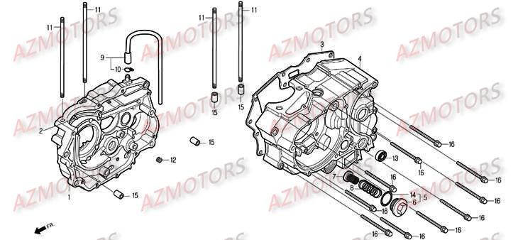 Pièces Moto DAELIM ROADWIN Carbu 125cc Pièces détachées