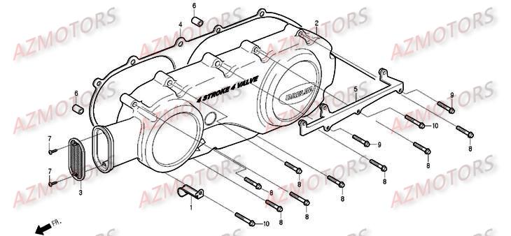 Pièces Scooter DAELIM S2 Carbu 125cc Pièces détachées