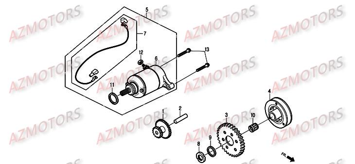 Pièces Scooter DAELIM S2 Injection 125cc Pièces détachées