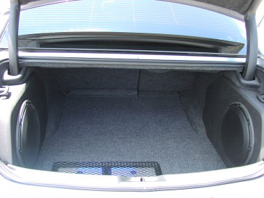 Car Audio System - Speakers in Trunk Walls