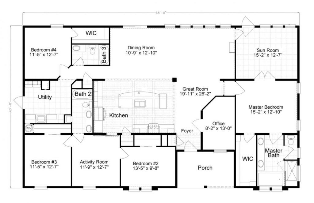 New New Manufactured Homes Floor Plans