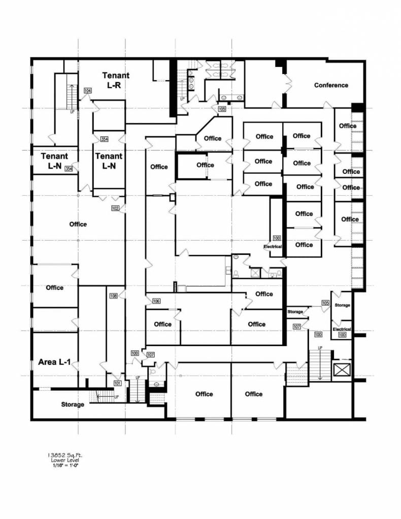 Commercial Building Floor Plan Layout for Floor Plans For