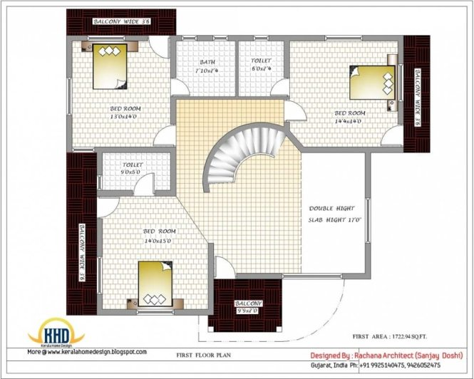 Luxury Indian Home Design With House Plan Sqft Kerala 2 Floor Throughout Beautiful New Plans