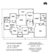 new construction floor plans | TheFloors.Co