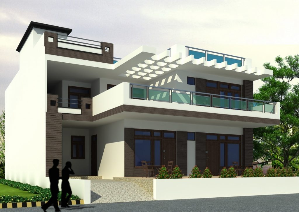 New House Desing. Elegant Temperate Climate Permaculture