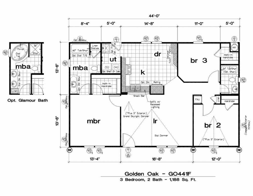 New Manufactured Homes Floor Plans  Home Design