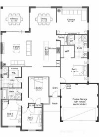 Great Floor Plan Ideas For New Homes - New Home Plans Design