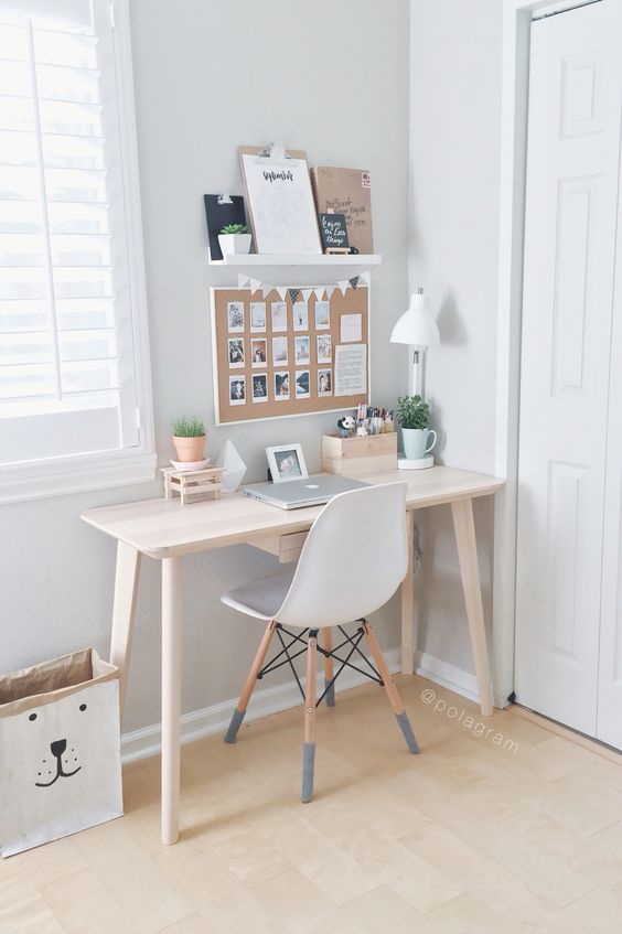 22 Simple  Minimalist Workspace Design Ideas for Home