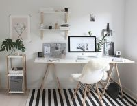 22 Simple & Minimalist Workspace Design Ideas for Home ...