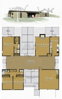 Build An Eichler Ranch House - 8 Original Design House ...