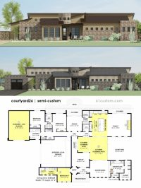 Modern House Plans, Floor Plans, Contemporary Home Plans ...