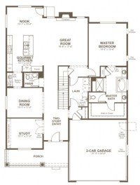 Elegant Richmond American Homes Floor Plans