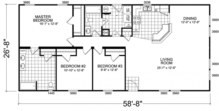 Awesome Champion Mobile Home Floor Plans  New Home Plans