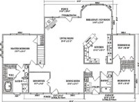 Beautiful Open Floor Plans Ranch Homes - New Home Plans Design