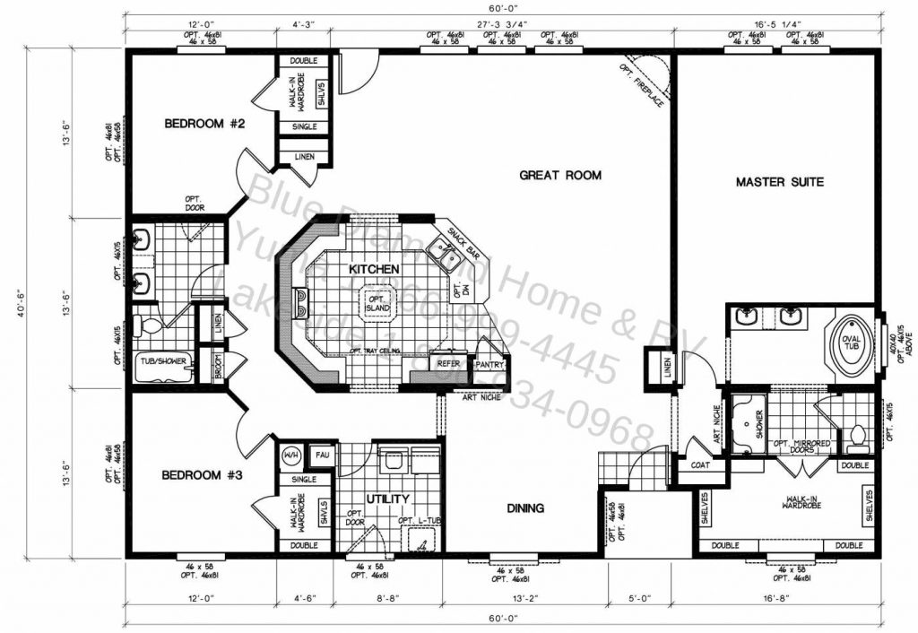 Fleetwood Mobile Home Floor Plans Unique Manufactured