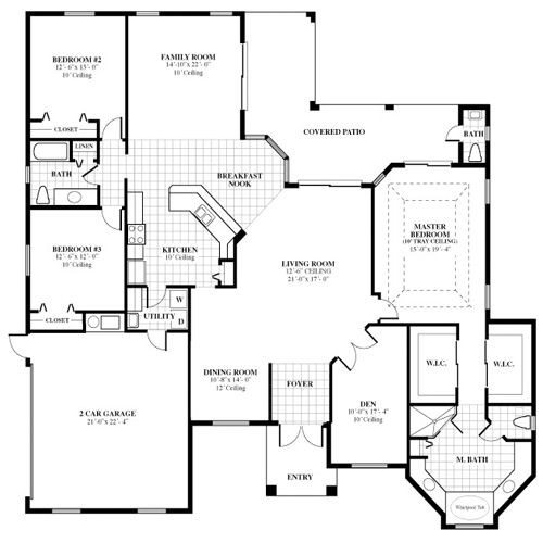 Florida Home Designs Floor Plans Lovely Best 20 Custom