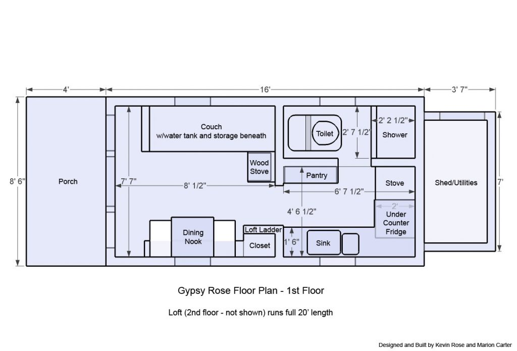 Free Small Home Floor Plans Fresh Tiny House Floor Plans