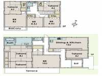 Japanese Home Floor Plan New Traditional Japanese House ...