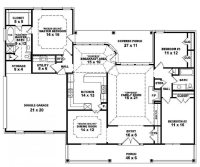 Beautiful Single Story Open Floor Plan Homes