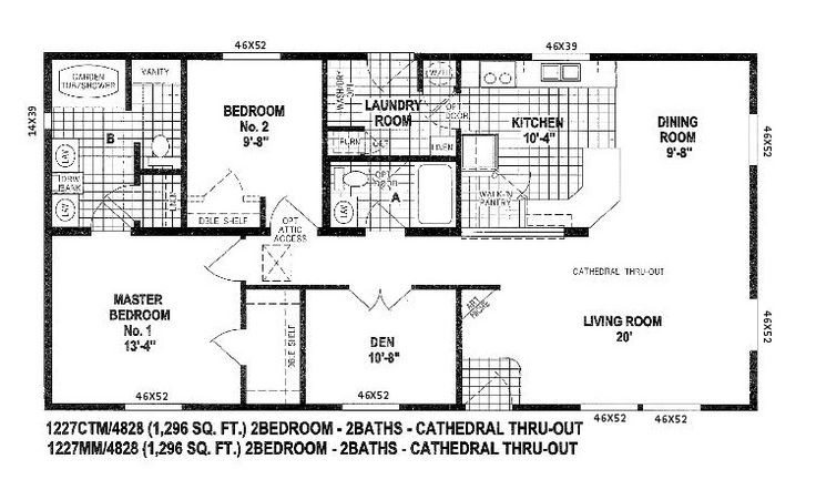 2004 Skyline Mobile Home Floor Plans